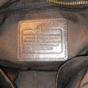 Coach Bags - COACH black leather Colette satchel F36366